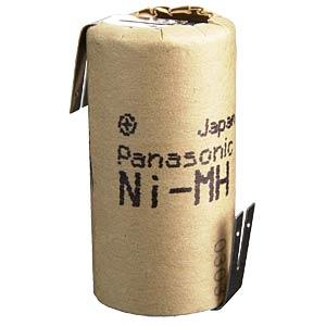 Sub-C-Akku, NiMh, 1,2 V, 2500 mAh, Z-Lötfahnen PANASONIC