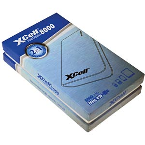 XCell Powerbank, 8000 mAh XCELL 139766