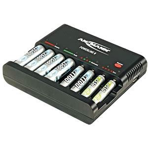 Tischladegerät Powerline 8, prozessorgesteuert, NiCd, NiMh ANSMANN 1001-0006