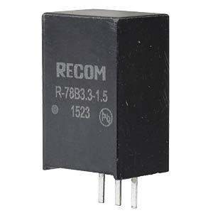 DC/DC-Wandler R78B, 3,3 V, 1500 mA, SIL-3, Single RECOM 80099160