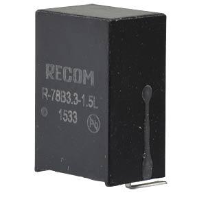 DC/DC-Wandler R78B, 3,3 V, 1500 mA, SIL-3, Single RECOM 80099151