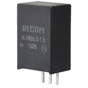 DC/DC, 5 V, 1,5A, Single RECOM 80099196