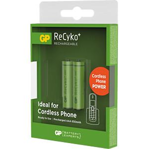 ReCyko+, NiMh Akku, AAA (Micro), 650 mAh, 2er-Pack GP-BATTERIES 12065AAAHCC2