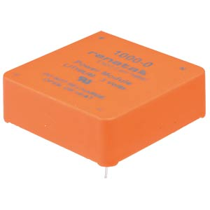 Lithium-Knopfzelle, 960 mAh, Printmon., liegend RENATA 1000-0