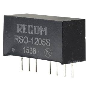 DC/DC-Wandler RSO, 1 W, 5 V, 200 mA, SIL-8, Single RECOM 10002251