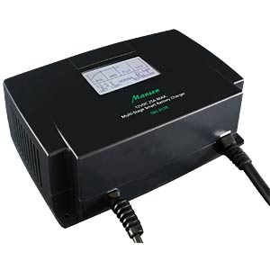 Hochleistungs-Batterieladegerät 12V, 25A, LCD MANSON SBC-9138