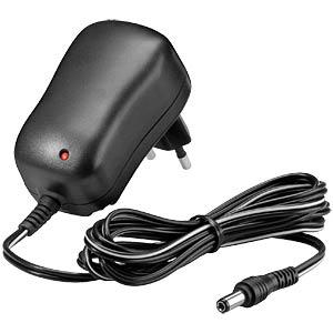 Eco-friendly plug-in power supply unit, 5 V, 1000 mA, 2.1 mm GOOBAY 54805