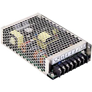 Switching power supply, closed 156 W, PFC 24 V/6.5 A MEANWELL HRPG-150-24