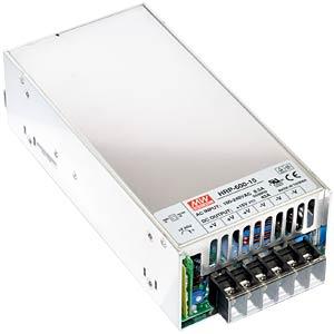 Schaltnetzt., geschlossen 636W, PFC 12V / 53A MEANWELL HRP-600-12