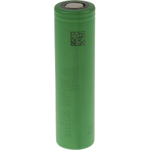 Industrial cell, 18650, 3.6 V, 2600 mAh, unprotected, pack of 2 SONY US18650VTC5