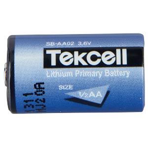 TEKCELL Lithium, 1/2AA, 1200 mAh, 14,5x26mm TEKCELL