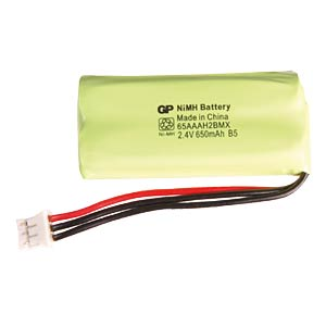 Cordless-Phone-Akku, NiMh, 2,4V, 650mAh GP-BATTERIES