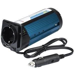 Power Inverter, mod. Sinus, 140 W, 12 V TITAN HW-140W8