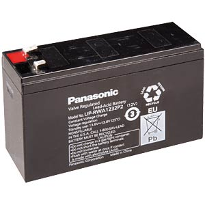 Maintenance-free special lead battery for UPSs PANASONIC UP-VWA1232P2
