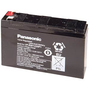 Maintenance-free special lead battery for UPSs PANASONIC UP-VW1220P1