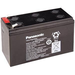 Maintenance-free special lead battery for UPSs PANASONIC UP-VW 1245P1