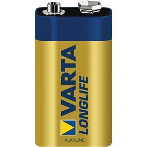 VARTA Longlife Extra, 9-Volt, 1er-Pack VARTA 04122101411