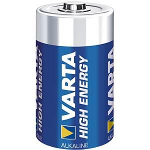VARTA Alkaline-Batterie, Mono LR20, 2er-Pack VARTA 4920121412