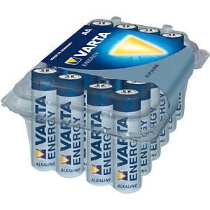 VARTA Alkaline-Batterie, Mignon LR6, 24er-Pack VARTA 4106 229 024