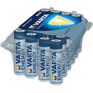 VARTA Alkaline-Batterie, Micro LR3, 24er-Pack VARTA 4103 229 024