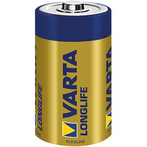 Longlife Extra, Alkaline Batterie, D (Mono), 2er-Pack VARTA 4120101412