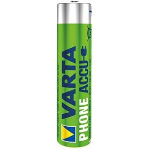 NiMh Akku, AAA (Micro), 800 mAh, 2er-Pack VARTA 58398 101 402