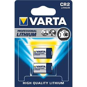 VARTA Professional Lithium, CR2, 920 mAh VARTA 6206301402