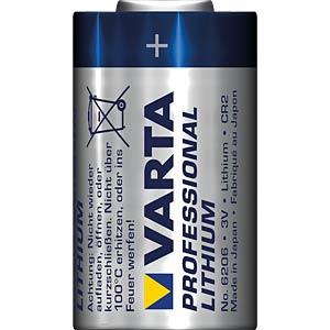 Lithium Batterie, CR2, 920 mAh, 2er-Pack VARTA 6206301402