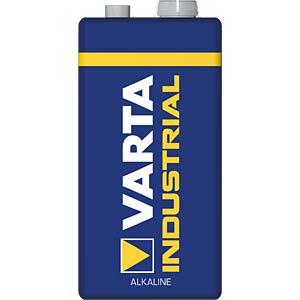 VARTA Industrial, alkaline-batterij, 9V-blok, 1 st. VARTA 4022211111
