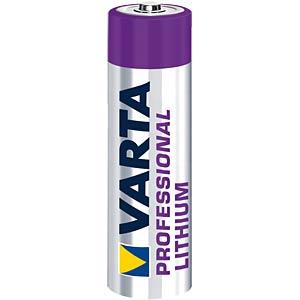 Lithium Batterie, AA (Mignon), 2900 mAh, 4er-Pack VARTA 06106 301 404