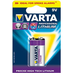 Varta Professional Lithium 1x9V VARTA 06122 301 401