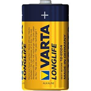 Longlife Extra, Alkaline Batterie, C (Baby), 6er-Pack VARTA 4114101306