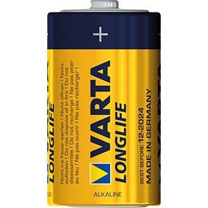 Longlife Extra, Alkaline Batterie, D (Mono), 6er-Pack VARTA 4120101306