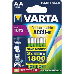 VARTA Ready-2-Use Toy, 2x AA, 2400 mAh VARTA 56786101402