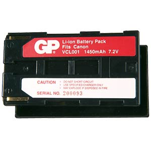 Li-ion camcorder battery 7.4V 1850mAh, for Canon FREI
