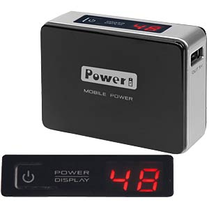 Powerbank VTB-23, 4500 mAh LED display VITEBO VTB-23