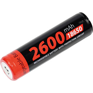 Industrie-cel, Li-Ion, 18650, 3,7 V, 2600 mAh, button-top XCELL 139353