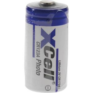 Lithium Batterie, CR123A, 1600 mAh, 1er-Pack XCELL XCR123A-BULK