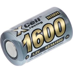 Industrie-cel, NiMh, 2/3A, 1,2 V, 1600 mAh, button-top XCELL 133291