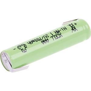 Industrie-cel, NiMh, AAA (micro), 1,2 V, 700 mAh, Z-soldeertabs XCELL 133872