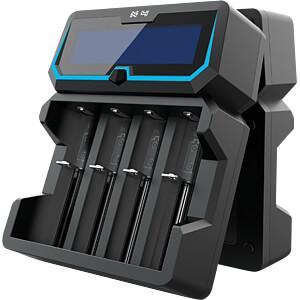 Fast charger Li-ion / Ni-MH, 4-slot XTAR