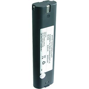 Replacement battery for MAKITA devices, 9.6 V, 2000 mAh FREI