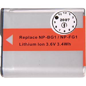 Li-ion camcorder battery 3.6V 950mAh, for Sony FREI
