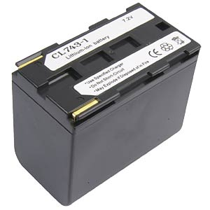 Li-ion camcorder battery 7.4V 5500mAh, for Canon FREI