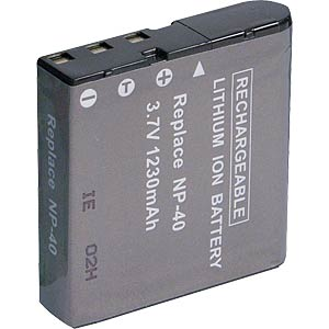 Li-ion camcorder battery 3.7V 1100mAh, for Casio FREI
