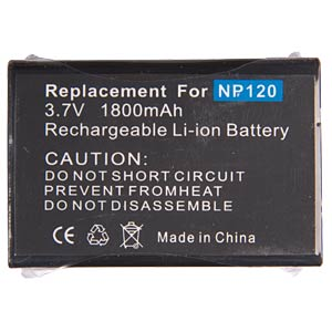 Li-ion camcorder battery 3.7V 1800mAh for CASIO/FUJI FREI