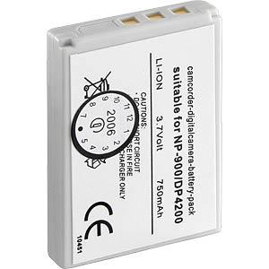 Li-ion camcorder battery 3.7V 720mAh, for Konica... FREI