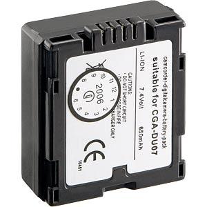 Li-ion camcorder battery 7.4V 650mAh, for Panasonic FREI