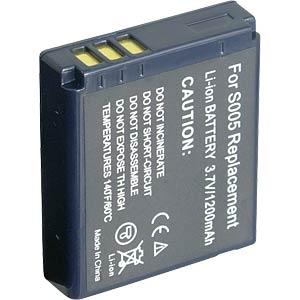 Li-ion camcorder battery 3.7V 1000mAh, Panasonic FREI