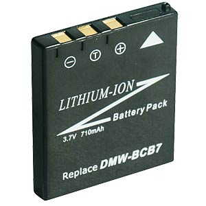 Li-ion camcorder battery 3.7V 650mAh, for Panas. FREI